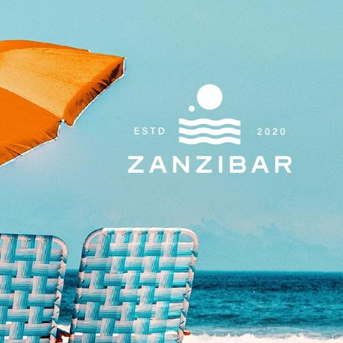 Soda design with the title 'Logo Design - Zanzibar'