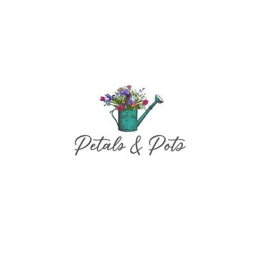 Bloom logo with the title 'logo for a greenhouse business'
