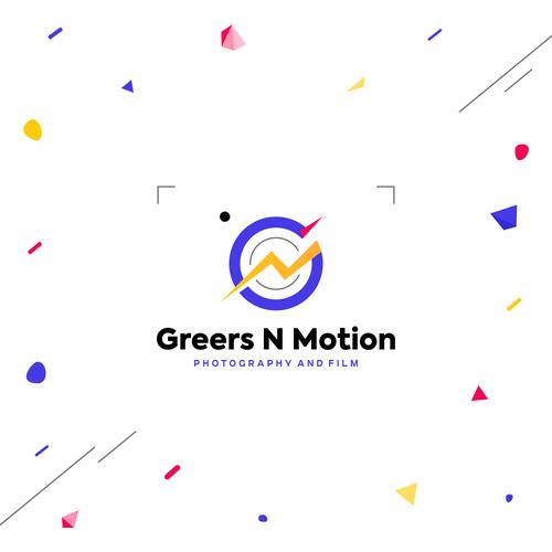 Celebration design with the title 'GM monogram'