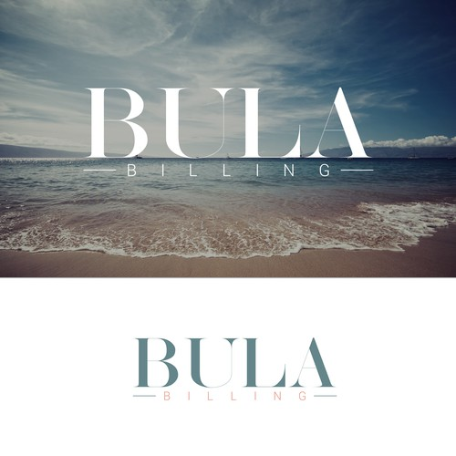 Accounting brand with the title 'Logo for unique Bula'