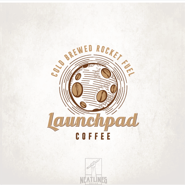 Launch logo with the title 'Launchpad Coffee'