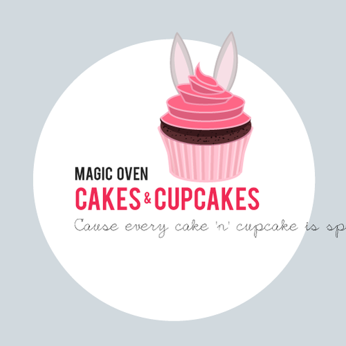 Sweet logo with the title 'Magic Oven'