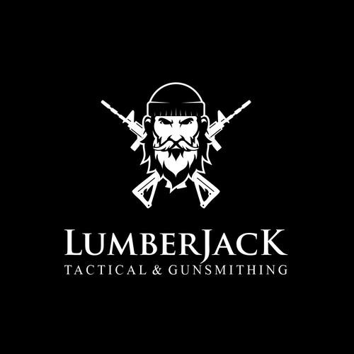Lumberjack logo with the title 'LumberJack Tactical & Gunsmithing'