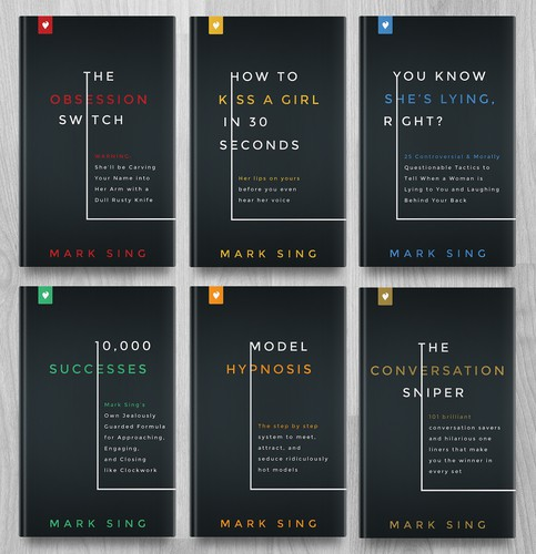 Eye-catching design with the title 'Book Series'