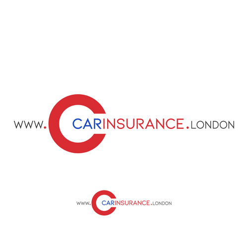 Compact design with the title 'Logo concept for Car Insurance Company'