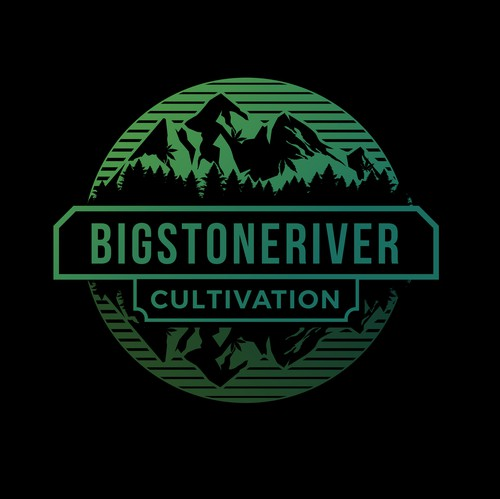 Reflection design with the title 'BigStoneRiver'