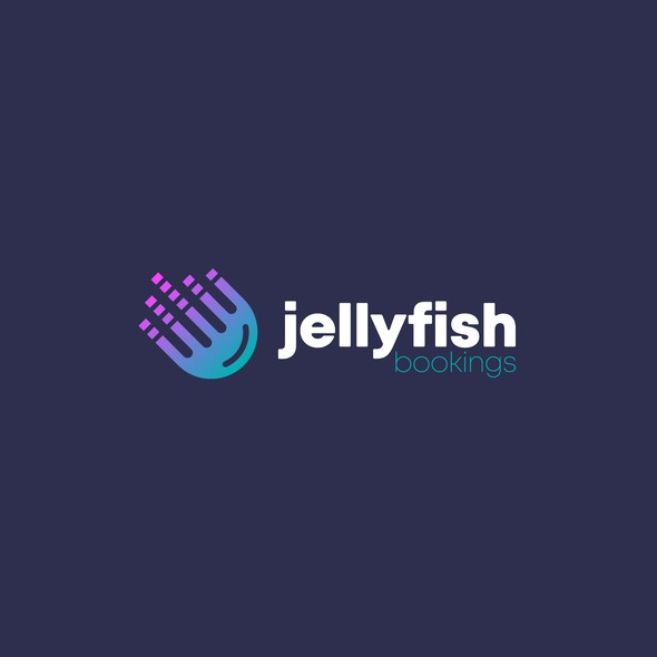 Jellyfish logo with the title 'Jellyfish Bookings'