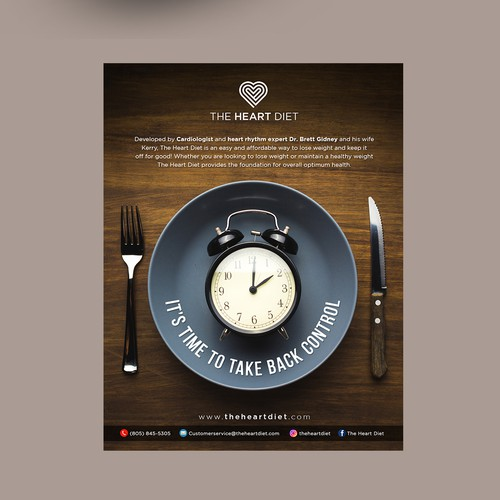 Magazine ad design with the title 'Magazine Ads Design'
