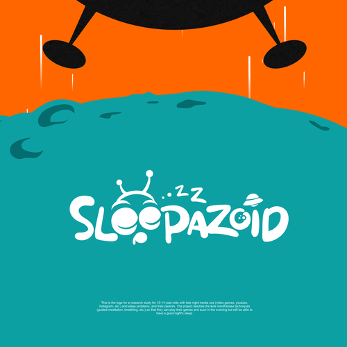 Alien logo with the title 'Sleep a Zoid'