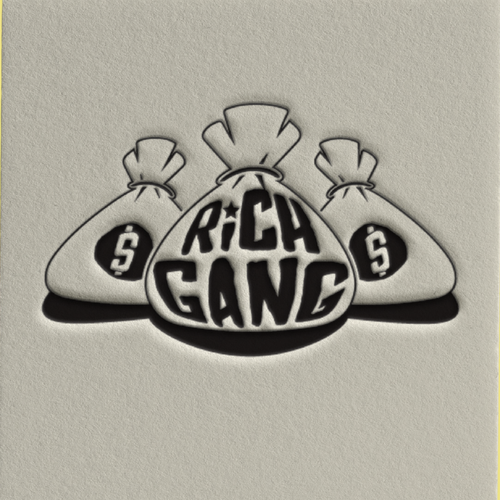 Trademark design with the title 'Rich Gang Logo'
