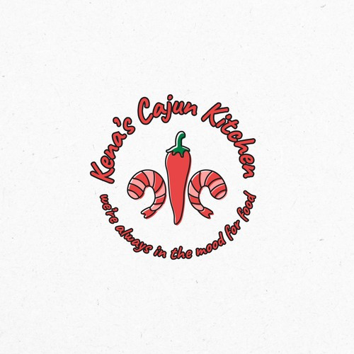 Spicy design with the title 'Logo design for a food truck'