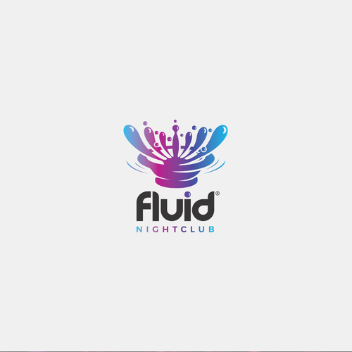 Club logo with the title 'Fluid'
