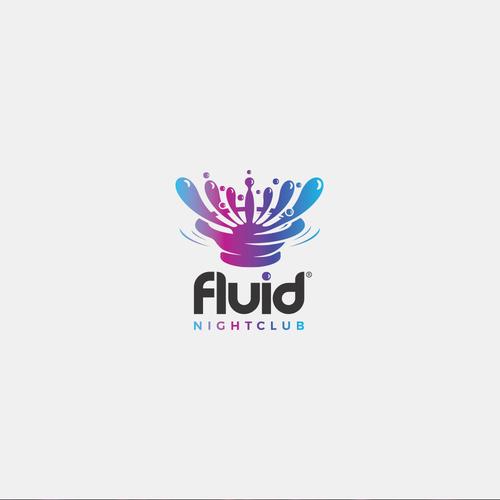Liquid design with the title 'Fluid'