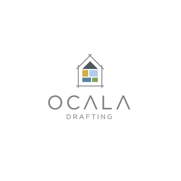 Draft design with the title 'Ocala Drafting'
