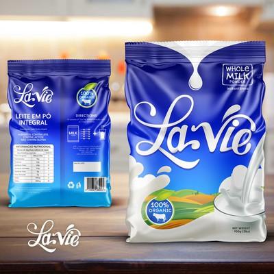 Packaging Design for La Vie Whole Milk Powder