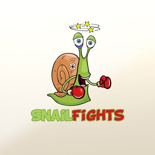 Snail logo with the title 'logo'