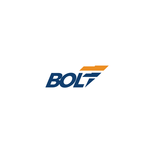 Thunderbolt logo with the title 'Bold Logo for bolt'