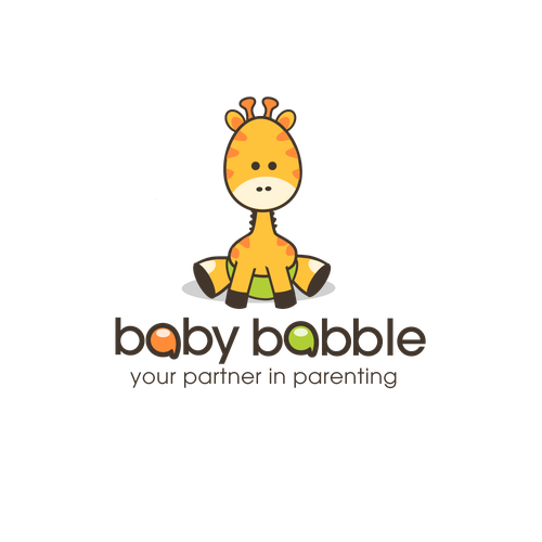 Childcare logo with the title 'Baby Giraffe'