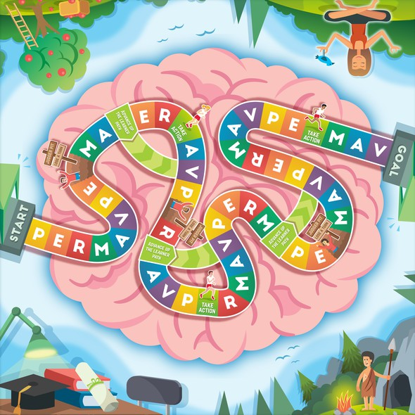 Education artwork with the title 'Board Game'