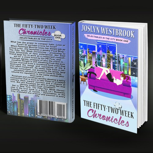Chick lit book cover with the title 'chronicles'