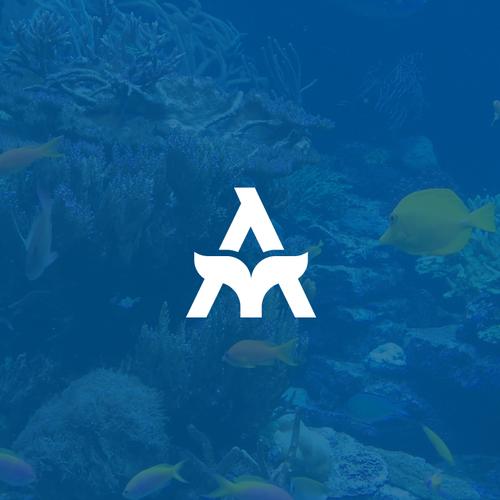 Aqua design with the title 'Aquarium'