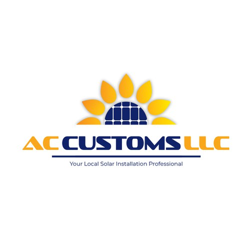 Sunflower logo with the title 'Ac Customs'