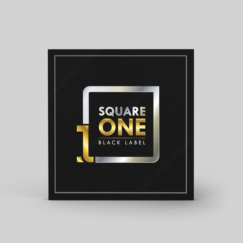 Young adult logo with the title 'Elegant logo design for square 1 '