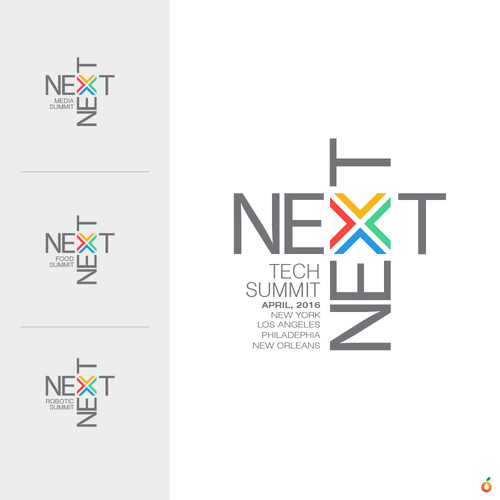 Summit design with the title 'next next'