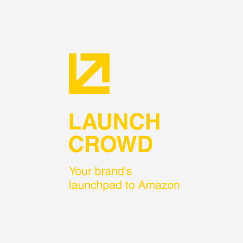 Helvetica design with the title 'Launchcrowd'