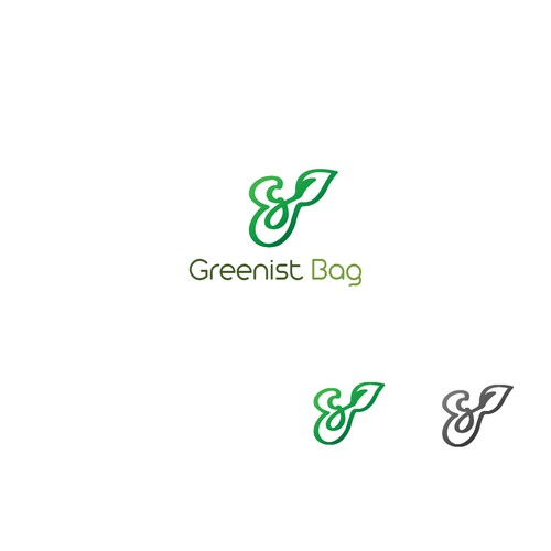 G brand with the title 'Logo concept'