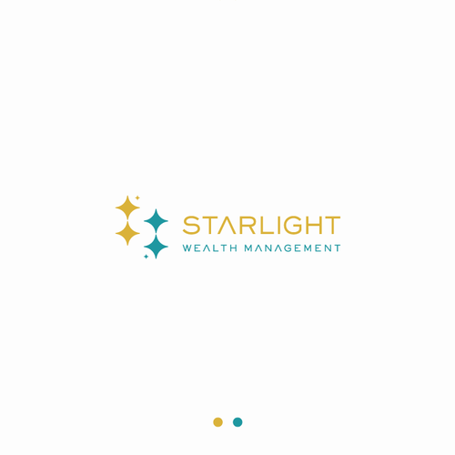 Teal logo with the title 'Starlight Wealth Management'