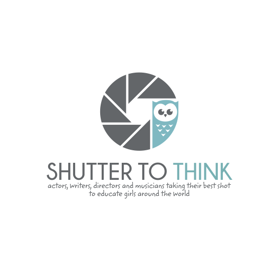 Shutter design with the title 'Logo needed for amazing project!!! Shutter To Think'