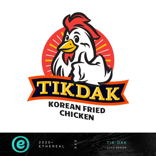 Clock design with the title 'Tik Dak'