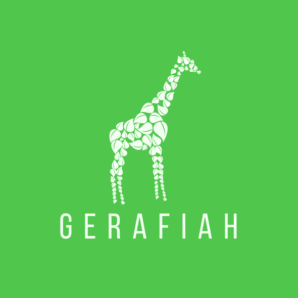 Sober logo with the title 'Logo for an online shop Gerfiah'