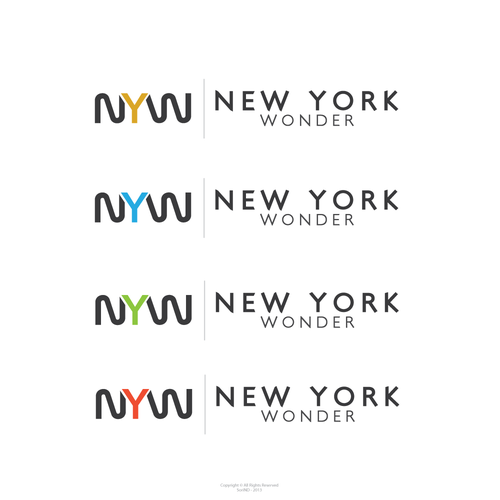 Wonder logo with the title 'Help New York Wonder with a new logo'
