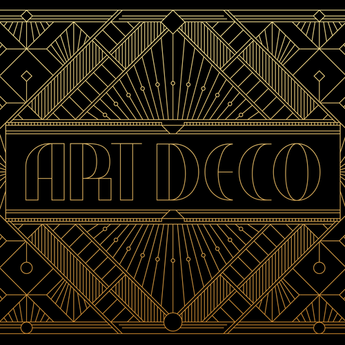 Packaging artwork with the title 'ARTDECO'