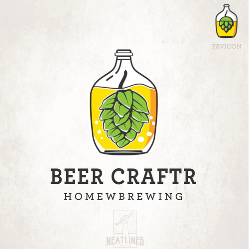 Vibrant design with the title 'Beer Craftr'