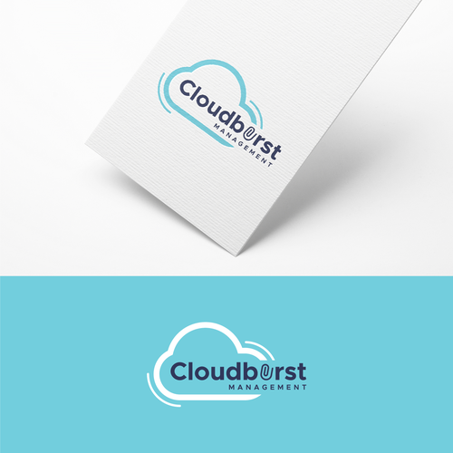 Clip design with the title 'Logo for Cloudburst'