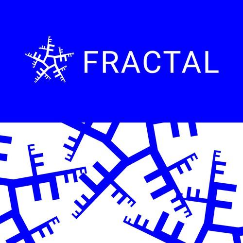 Fractal design with the title 'Fractal'