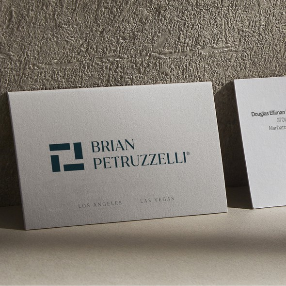 Rich design with the title 'Luxury Business Card'