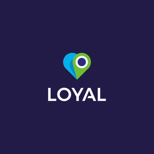 Track design with the title 'Lovely logo for pet tracking app: Loyal Pet'