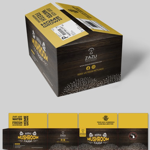 Quality packaging with the title 'package and Logo design'