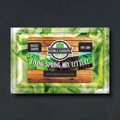 Edible Garden Label Design
