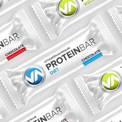 Vitamin Avenue Protein Bar Design