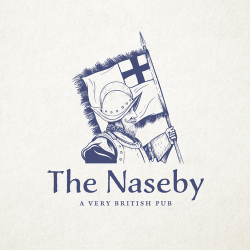 Battle logo with the title 'The Naseby'