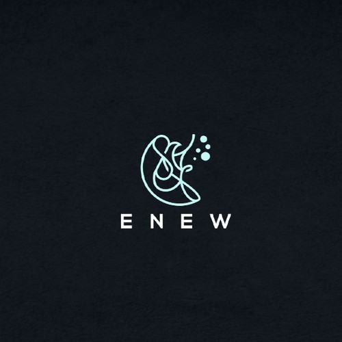 Conceptual design with the title 'enew'