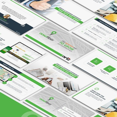 CrowdFiber Presentation Redesign