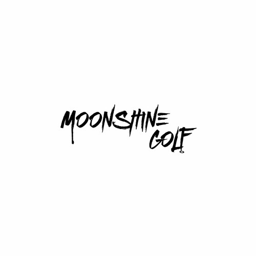 Moonshine design with the title 'Moonshine Golf'