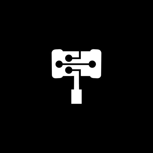 Networking logo with the title 'Hammer logo'