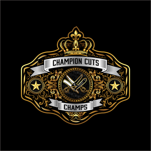 Champion design with the title 'Champion Cuts'
